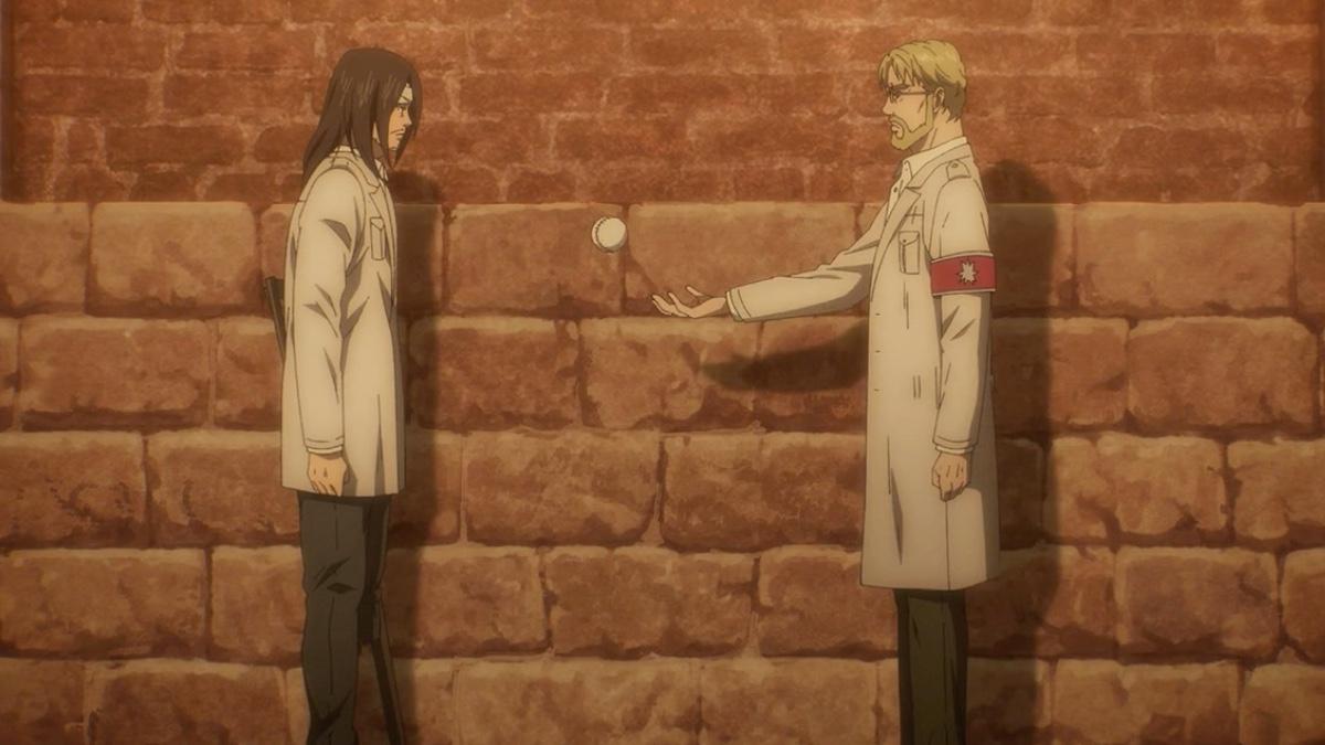Attack On Titan Season 4 Episode 16 Eren And Zake