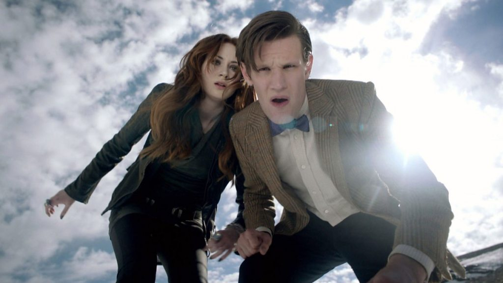 Doctor Who Asylum of the Daleks Matt Smith Karen Gillan