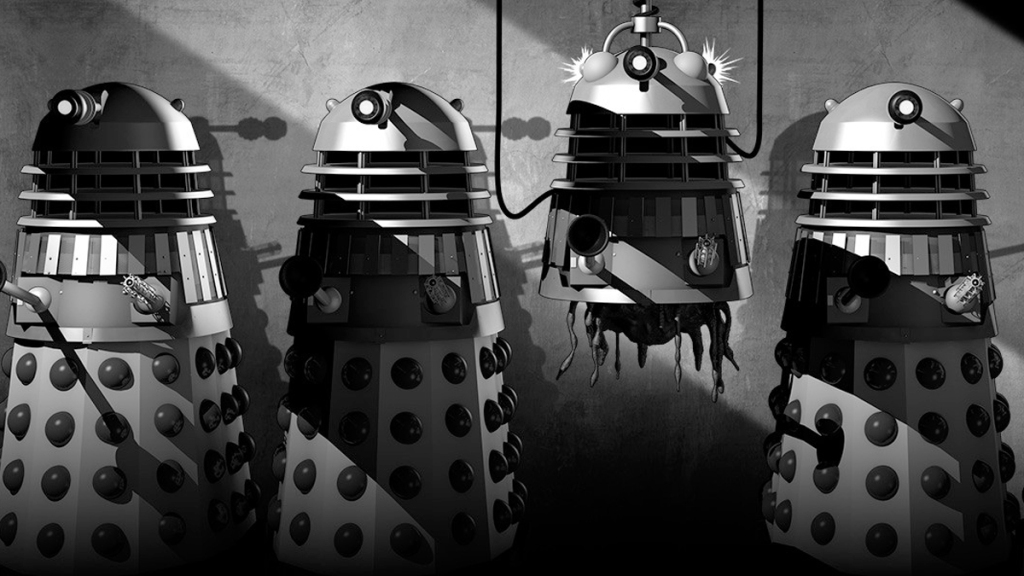 Doctor Who The Power of the Daleks animation