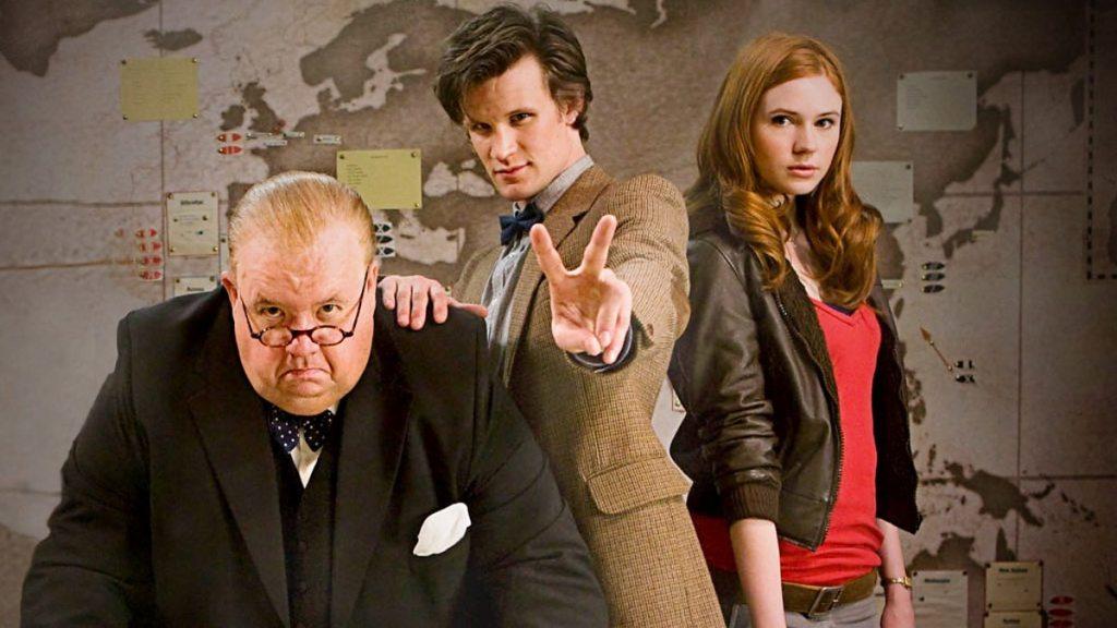 Doctor Who Victory of the Daleks Matt Smith Karen Gillan