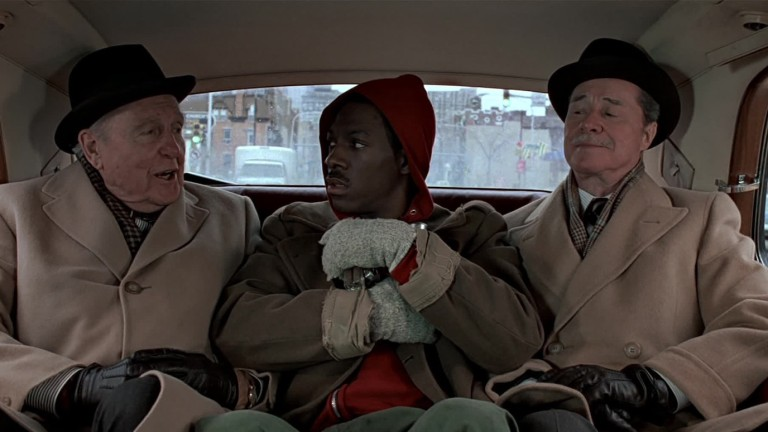 Duke Brothers and Eddie Murphy in Trading Places