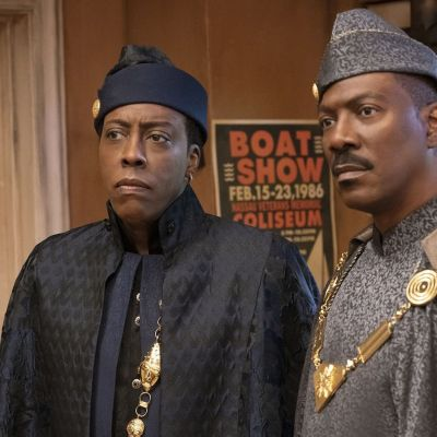 Eddie Murphy and Arsenio Hall in Coming 2 America Review