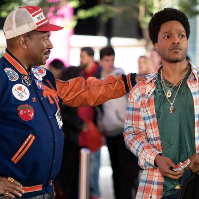 Eddie Murphy and Jermaine Fowler in Coming 2 America