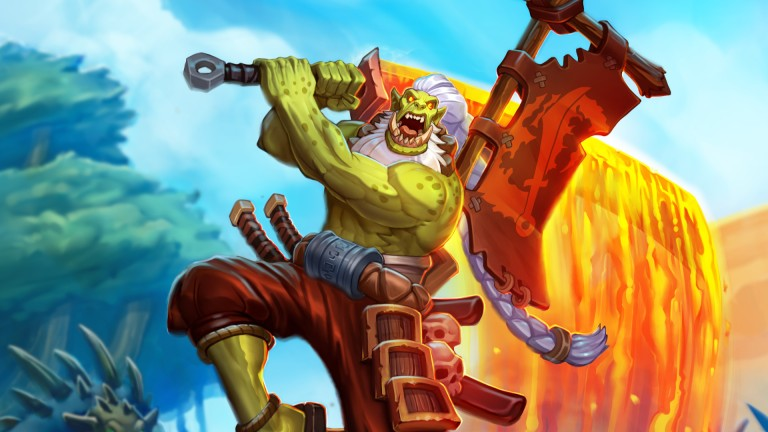 Forged in the Barrens Hearthstone