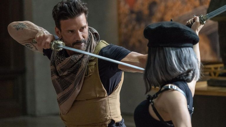 Frank Grillo Kicking Ass in Boss Level