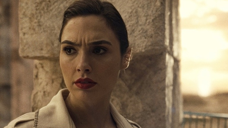Gal Gadot as Wonder Woman in Zack Snyder's Justice League