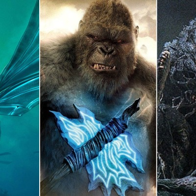 Mothra, King Kong, and Biollante in the MonsterVerse