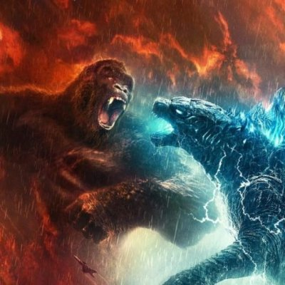 King Kong Punches Godzilla in the face in Godzilla vs. Kong