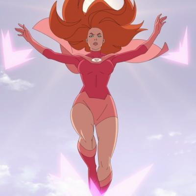 Atom Eve (Gillian Jacobs) in Invincible