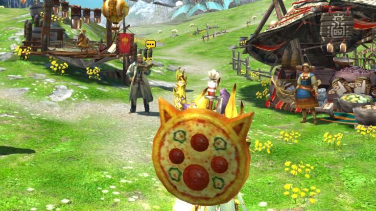 Pizza Weapon Monster Hunter