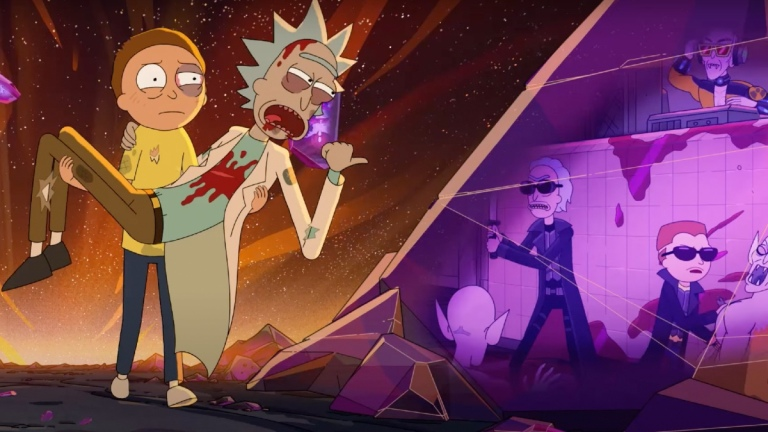 Rick and Morty in season 5 trailer