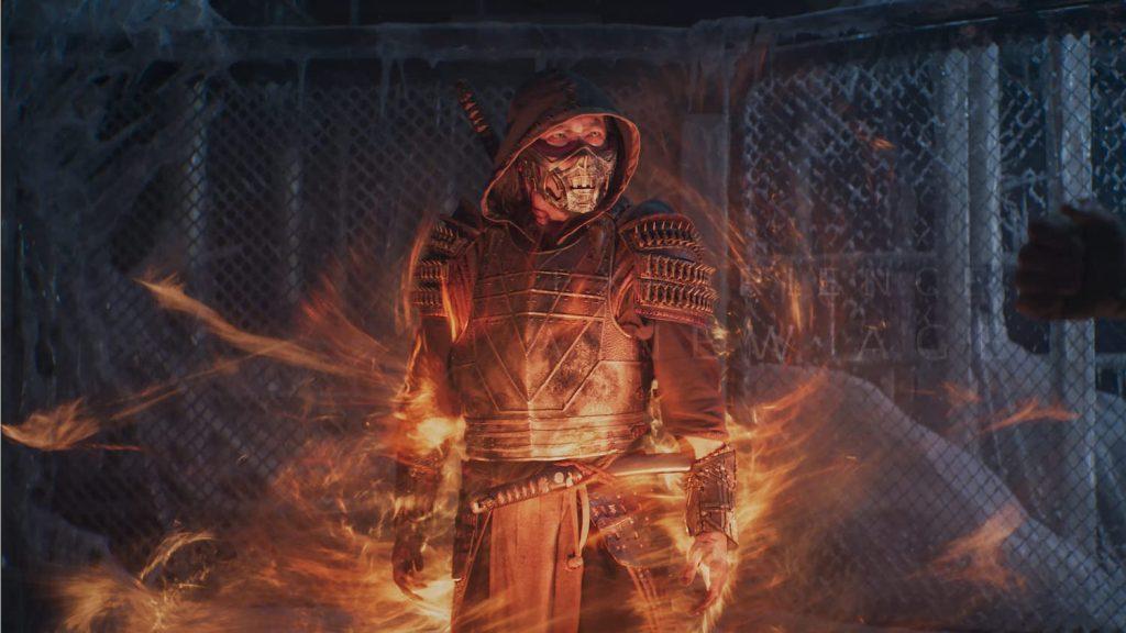 Scorpion in Mortal Kombat 2021