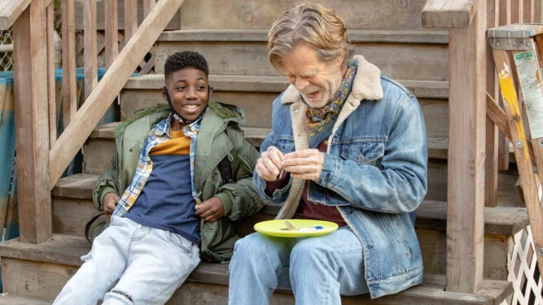 Liam and Frank Gallagher on Shameless season 11
