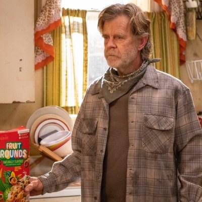 William H. Macy as Frank Gallagher in Shameless season 11
