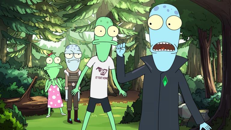 The aliens of Solar Opposites season 2