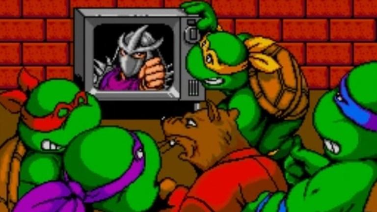 Teenage Mutant Ninja Turtles 4 Turtles in Time