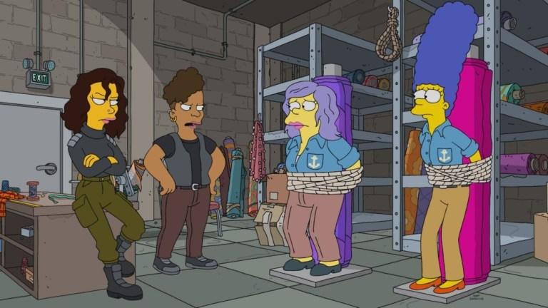 The Simpsons Season 32 Episode 17 Uncut Femmes