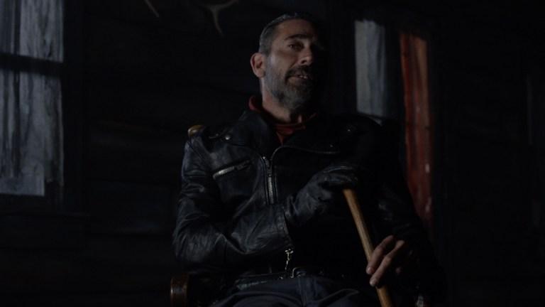 Negan (Jeffrey Dean Morgan) in The Walking Dead season 10 episode 22