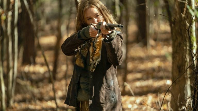 Lynn Collins as Leah on The Walking Dead