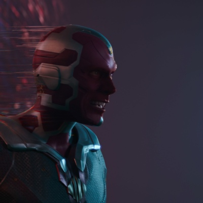 The Vision (Paul Bettany) on WandaVision