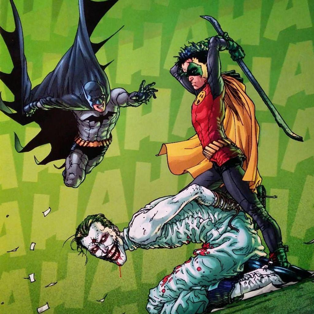 Joker en Batman y Robin de Grant Morrison