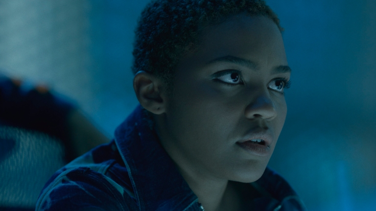 China Anne McClain as Jennifer in Black Lightning Season 4