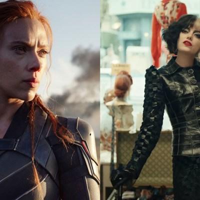 Black Widow and Cruella will premiere on Disney+