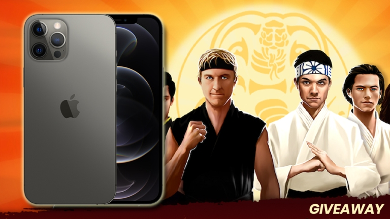 Cobra Kai: Card Fighter iPhone 12 Pro Giveaway