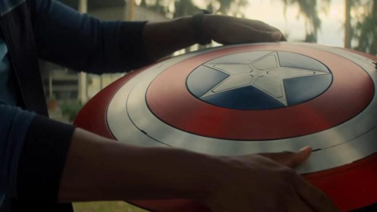 Captain America's Shield In The Falcon And The Winter Soldier