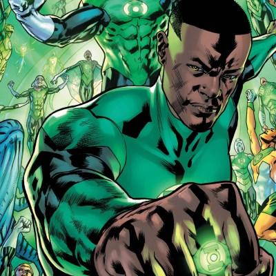 John Stewart on the cover of Green Lantern #1