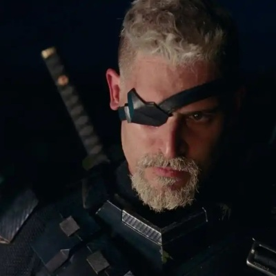 Joe Manganiello as Slade Wilson, Deathstroke, in Zack Snyder's Justice League