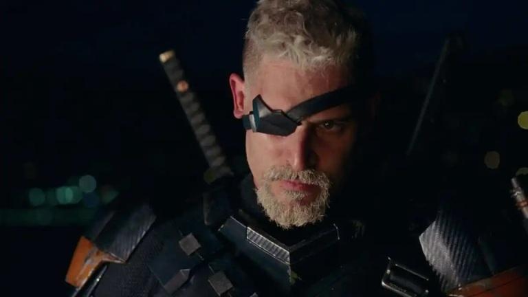 Joe Manganiello as Slade Wilson, Deathstroke, in Zack Snyder's Justice League