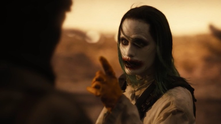 Justice League Snyder Cut Joker Jared Leto