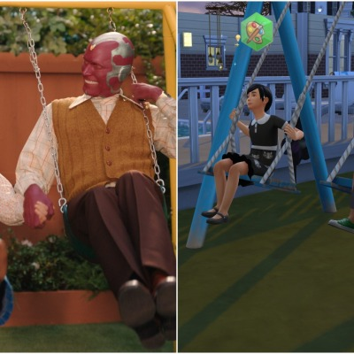 Wandavision and The Sims