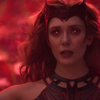 "Elizabeth Olsen as Scarlet Witch on WandaVision, ""The Series Finale."""