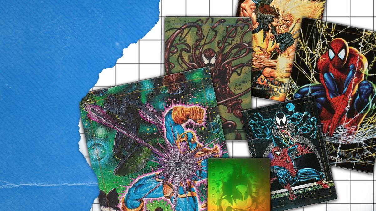 Marvel Skybox Cards