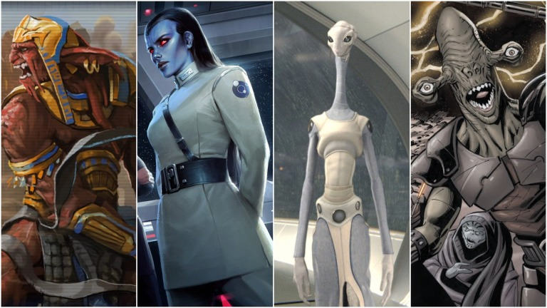 Star Wars Alien Races
