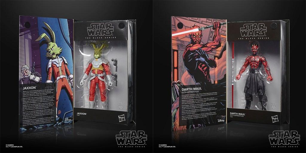Star Wars: The Black Series Jaxxon y Darth Maul (aprendiz Sith).