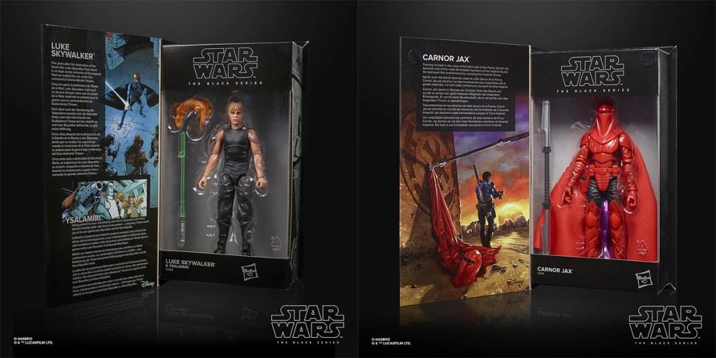 Star Wars: The Black Series Luke Skywalker (Heredero del Imperio) y Carnor Jax.