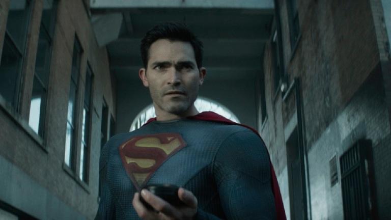 Tyler Hoechlin as Superman in Superman & Lois episode 4