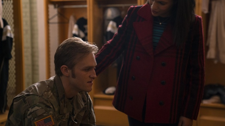 Wyatt Russell as John Walker in Marvel's The Falcon and the Winter Soldier Episode 2