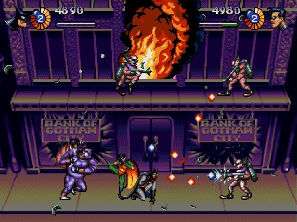 Adventures of Batman and Robin Sega Genesis