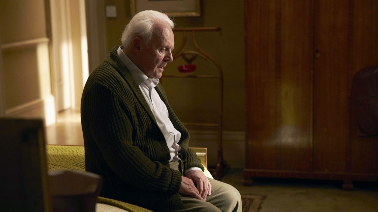 Anthony Hopkins in Oscar winning role in The Father
