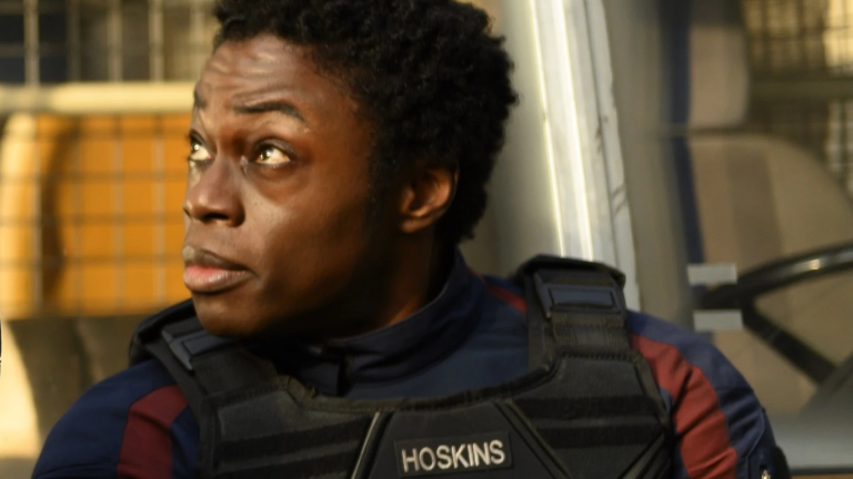 Lemar Hoskins in Falcon and Winter Soldier