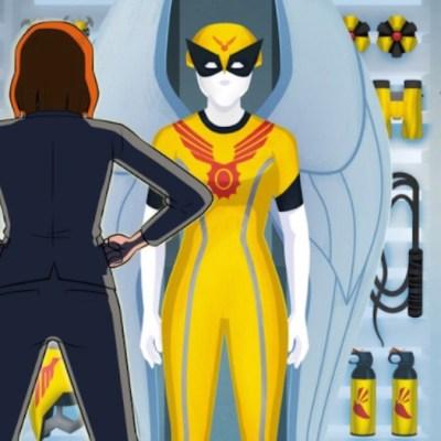 Birdgirl Costume And Accessories