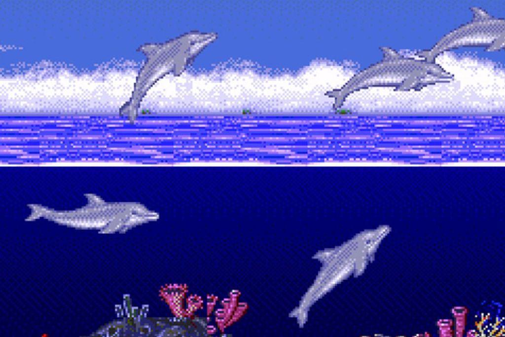 Ecco the Dolphin Sega Genesis