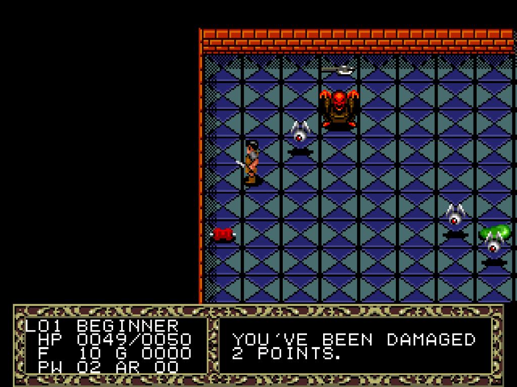 Fatal Labyrinth Sega Genesis