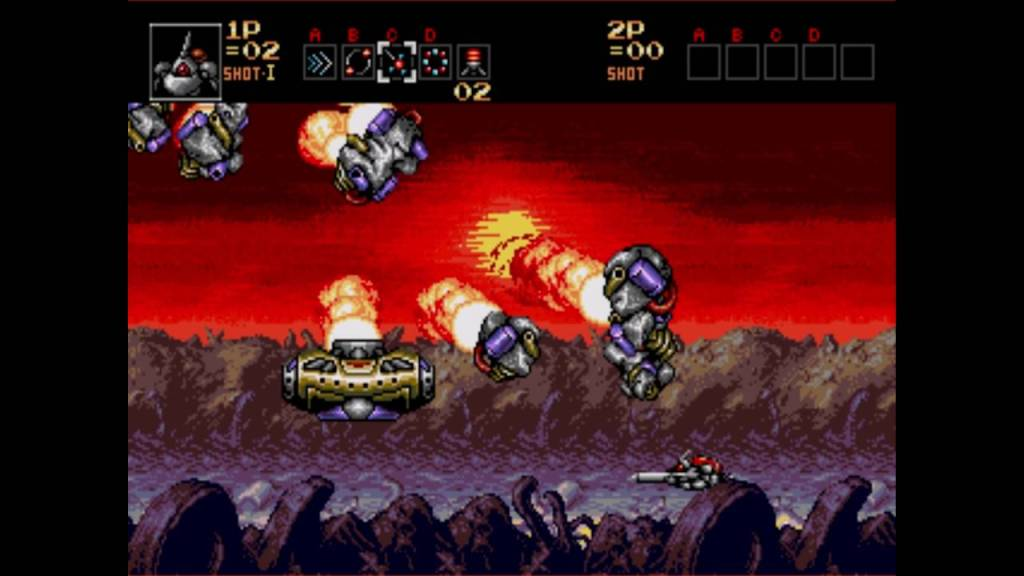 Contra: Hard Corps Sega Genesis
