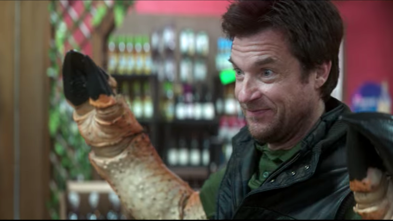 Jason Bateman as Jerry the Crab in Thunder Force