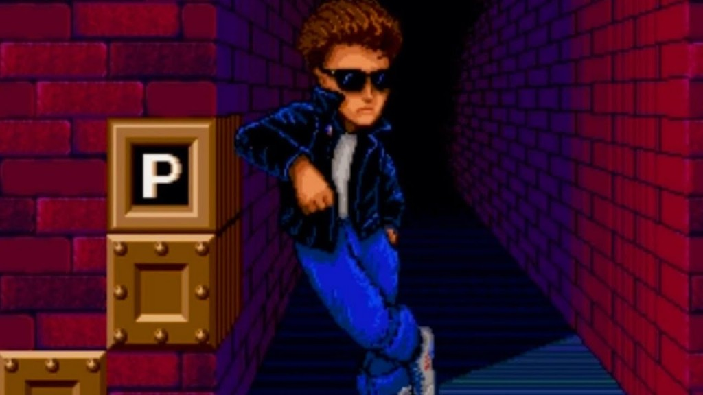 Kid Chameleon Sega Genesis